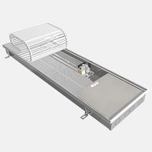 Отопительный внутрипольный конвектор Eva Coil-K (С вентилятором)