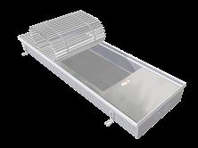 Отопительный внутрипольный конвектор Eva Coil-KT80 (Без вентилятора)