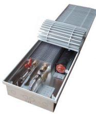 Отопительный внутрипольный конвектор Eva Coil-KВ80 (С вентилятором)