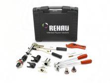 Ручной монтажный инструмент Rehau Rautool M1 со сменными комплектами на диаметр 16-40