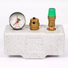 Группа безопасности UNI-FITT для котла до 50 кВт с теплоизоляцией