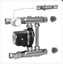 Насосно-смесительный узел Meibes F 36 RW 1794242 с насосом Grundfos UPS 15-50/130