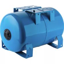 Гидроаккумулятор Stout (Стаут) горизонтальный 80 л. (синий)