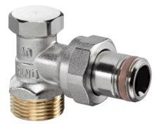 Вентиль Oventrop Combi 2 запорный угловой 1/2″ x 3/4″ НР